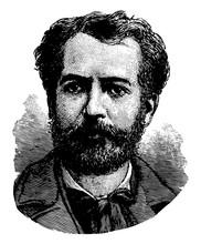 Frédéric Auguste Bartholdi Vintage Illustration