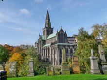 Glasgow Cathedral, Also Called The High Kirk Of Glasgow, Scotland, United Kingdom, Circa 19th Of October 2019