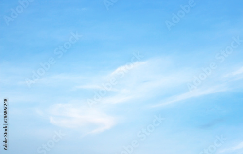 Aluminium Prints Heaven sky