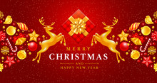 Festive Christmas And New Year...