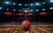 Leinwanddruck Bild - basketball photo background