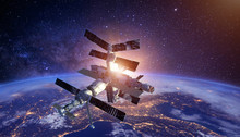 Sapce Satellite Technology Bac...