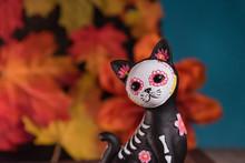 Catrina Cat Skull - Day Of The...