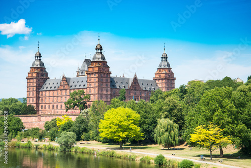 Fotomural  Frankfurt Johannisburg palace, Aschaffenburg Germany