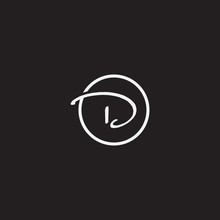 Simple Letter D Logo Icon Vector