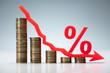 Interest Rate Decrease Concept