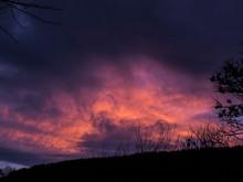 Dramatic Sunset Clouds