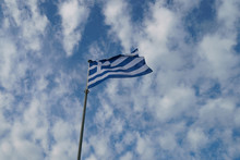 National Flag Of  Greece (blue...
