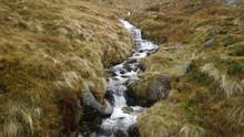 Waterfall In Ben Nevis