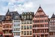 Die Ostzeile auf dem Frankfurter Römerberg