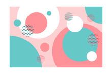 Colorful Circular Flat Shapes ...