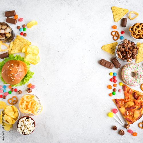 Unhealthy eating © mizina