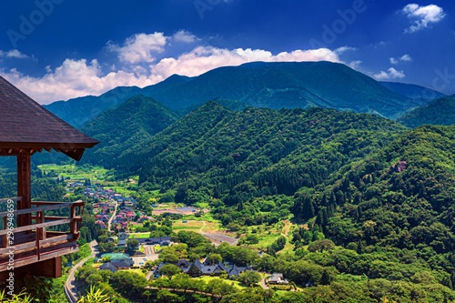 Photo 山形県・山寺からの風景