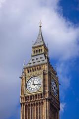 Fototapeta na wymiar Big Ben Clock Tower in London city in England