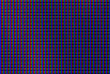 Color Pixels Of An LCD Screen ...
