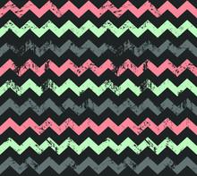 Seamless Vector Zigzag Pattern...