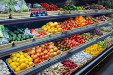 Fresh Organic Vegetables And F...