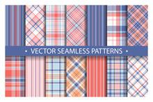 Tartan Set Pattern Seamless Pl...