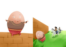 Humpty Dumpty Illustration