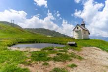 Little Chapel In South Tyrol, ...