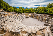 Theatre In Butrint National Pa...