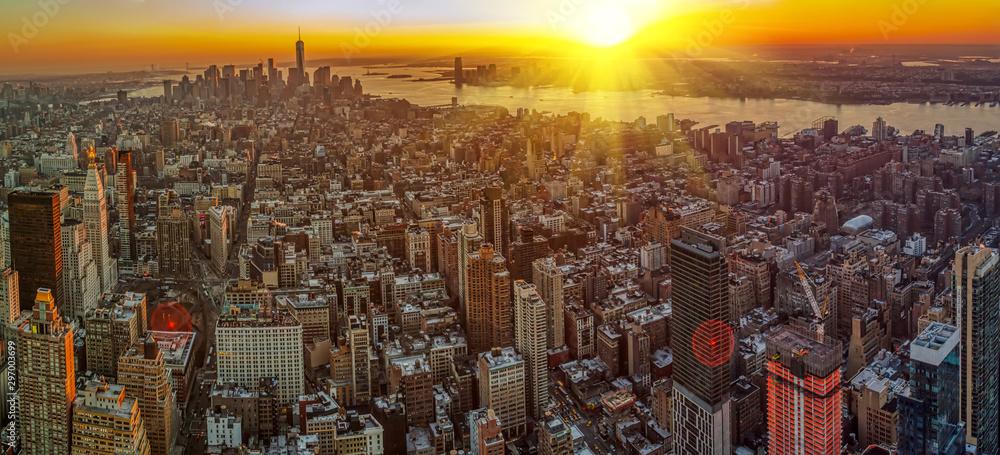 Fototapety, obrazy: Manhattan skyline