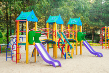 Colorful Children Playground A...