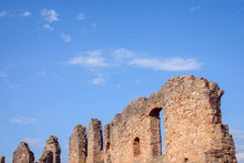 Ruins Of Castle. Old Walls Of ...