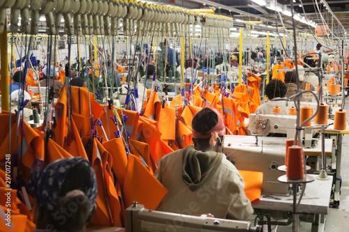 Fotografia Textile factory