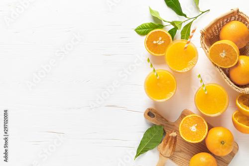 Carta da parati Orange juice