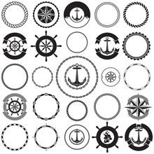 Collection Of Nautical Border ...