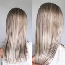 Blond Hair With Professional H...
