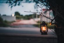 Vintage Lantern Hanging Of A T...