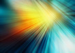 canvas print picture - abstract colourful background with straight rays of sunshine