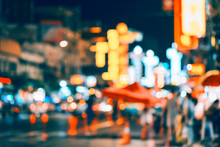 Abstract Blur Bokeh Background City