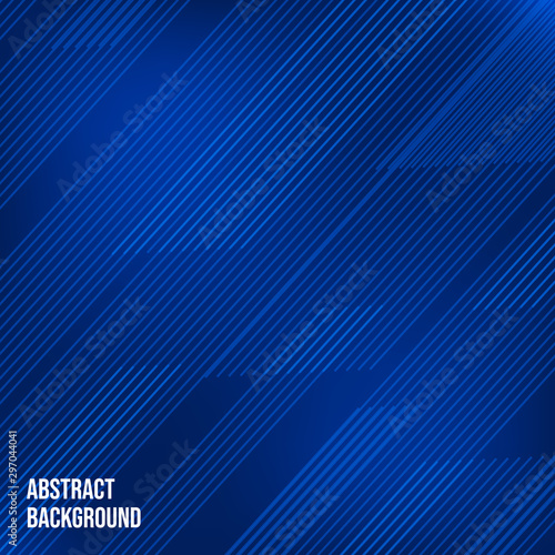 Fotografie, Obraz  Abstract background with stripes