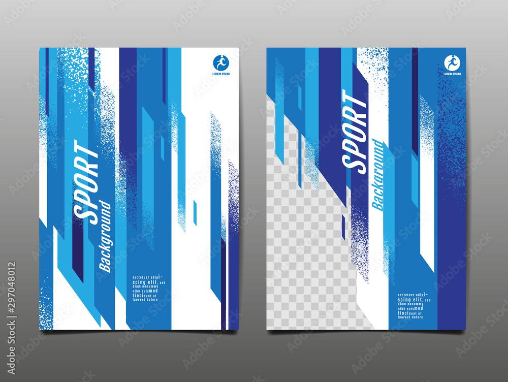 Fototapeta sport Layout , template Design, Abstract Background, Dynamic Poster, Brush Speed Banner, grunge ,Vector Illustration.