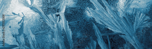 background-and-texture-of-frost-on-glass-panorama