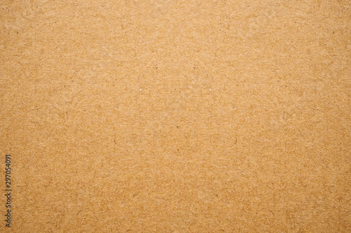 Foto  Old brown recycled eco paper texture cardboard background