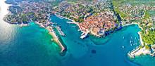Idyllic Adriatic Island Town O...