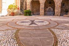 Pavimentazione Davanti Alla Chiesa Del Principato Di Seborga