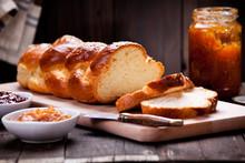 Homemade Brioche With Orange M...
