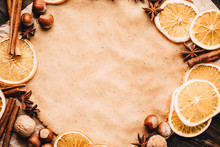 Holiday Food Background For Ba...