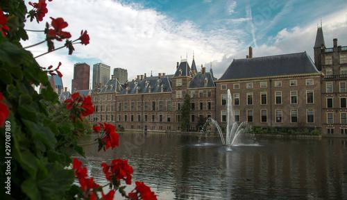 Foto auf Gartenposter Stockholm Binnenhof of Netherlands in The Hague, Europe