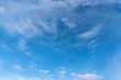Blue sky with clouds, background and texture.