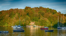 Evening At Greenway Quay, Dittisham, Devon, United Kingdom