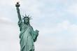 USA, New York - May 2019: Statue of Liberty, Liberty Island