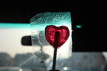 Red Lollipop Candy