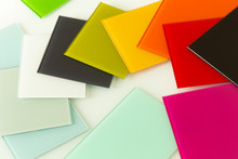 Colored Pieces Of Decorative G...