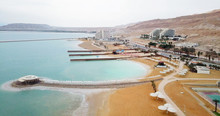Aerial Image  Of The Dead Sea ...